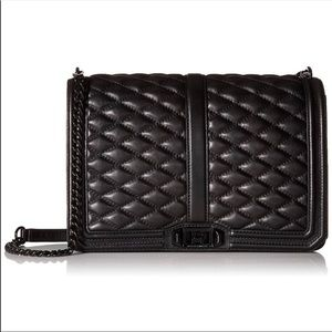 Rebecca Minkoff Jumbo Quilted Love Crossbody